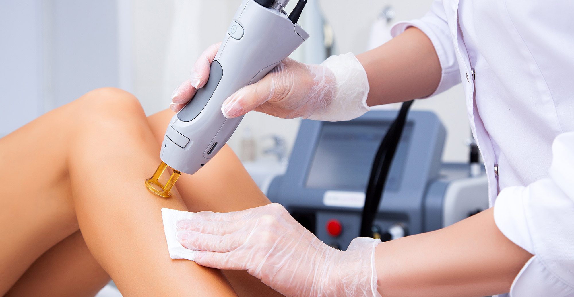 Virtually Painless Laser Hair Removal